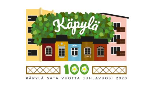 Käpylä 100 vuotta logo