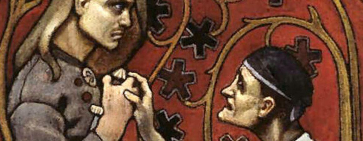 Kuva Gallen-Kallelan Velisurmaaja-teoksesta